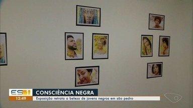Exposição retrata a beleza de jovens negros em Ilha das Caieiras, em Vitória - Projeto pretende valorizar a juventude da periferia.