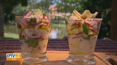 'Prato Fácil' ensina receita de ceviche com abacate - Fernando Kassab traz alternativa saudável para este prato da culinária peruana.