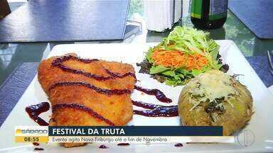 Festival da Truta agita Nova Friburgo até o fim de novembro - Assista a seguir.