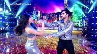 Anderson Tomazini e Juliana Acácio se apresentam no zouk - Dupla arrasa no palco do Domingão