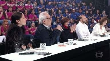 Artur Xexéo e Philip Miha avaliam apresentação de Anderson Tomazini e Juliana Acácio - Eles falam da sensualidade da dança e seus traços característicos