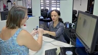 TRE retoma cadastramento biométrico em Cuiabá e VG - TRE retoma cadastramento biométrico em Cuiabá e VG.