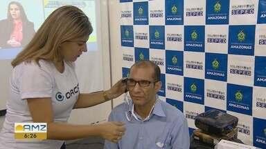 Semana Nacional de Ciência e Tecnologia tem início no AM - Dentre os projetos, um que tem o objetivo de incluir pessoas com deficiência visual ganhou destaque.