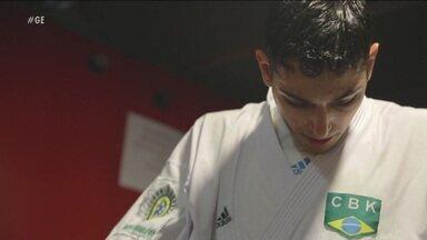 Brasileiro se destaca e está na final do mundial de karatê em Madrid - Brasileiro se destaca e está na final do mundial de karatê em Madrid
