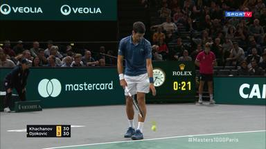 Masters 1000 - Paris - Khachanov x Djokovic - Final