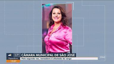 Vereadora de São José é afastada por suspeita de lavagem de dinheiro - Vereadora de São José é afastada por suspeita de lavagem de dinheiro
