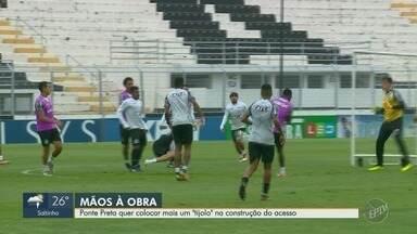 Lateral Igor se recupera de uma contusão e pode ser reforço para a Ponte Preta - Jogo da Macaca acontece nesta sexta-feira (9), às 20h30, contra o Juventude.