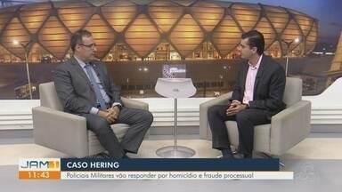 Delegado Ivo Martins comenta 'Caso Hering' e prisão de policiais - Confira a entrevista realizada no jornal.