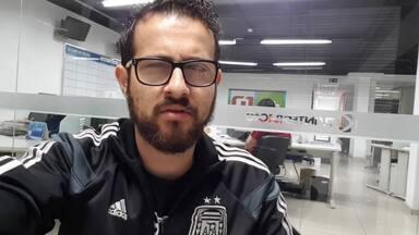 """Análise: Reis precisará """"driblar"""" lesões para vingar na URT em 2019 - Bruno Ribeiro diz que centroavante tem virtudes, mas relata que problemas físicos atrapalharam jogador no Tupi em 2018."""