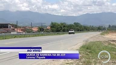 Rodovia que liga Lorena ao sul de Minas tem trechos de interdição por queda de barreiras - Os trechos são sentido SP no trecho de Lorena.