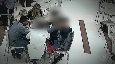Assassino do jogador Daniel marca encontro com suspeitos do crime em shopping - O encontro serviu para coagir possiveis suspeitos do crime, segundo a polícia
