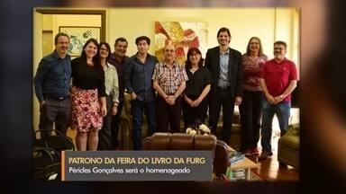 Péricles Gonçalves é o patrono da 46ª Feira do Livro da FURG - Professor será o homenageado no evento cultural da universidade - que acontece a partir de janeiro no balneário Cassino.