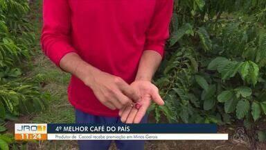 Café de Cacoal fica entre os cinco melhores do Brasil - Concurso foi realizado em Belo Horizonte, MG.