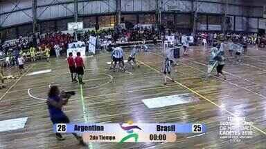 Locutor argentino vai ao delírio com gol e título sobre o Brasil - Locutor argentino vai ao delírio com gol e título sobre o Brasil