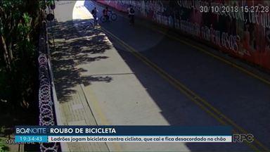 """Ciclista pode cadastrar a bicicleta pra facilitar a devolução em caso de roubo - A plataforma """"Minha Bike"""" foi lançada esta semana pelo Governo do Paraná."""