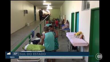 Pacientes sofrem com superlotação no hospital Tibério Nunes em Floriano - Pacientes sofrem com superlotação no hospital Tibério Nunes em Floriano