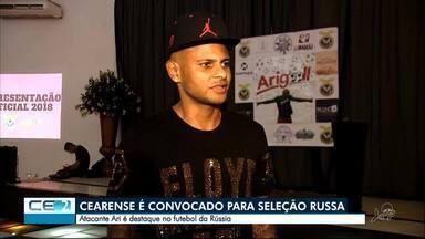 Cearense é convocado para a seleção russa - Confira mais notícias em g1.globo.com/ce
