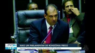 Nilton Capixaba se entrega à polícia em Brasília - Parlamentar é condenado por corrupção passiva.