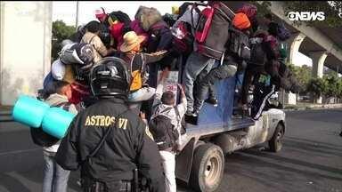 Programa discute os efeitos da caravana de migrantes da América Central para os EUA