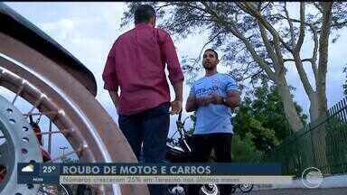 Cresce o número de motos roubadas em Teresina - Cresce o número de motos roubadas em Teresina