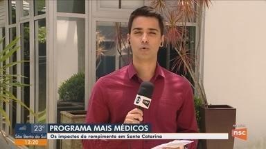 Decisão de Cuba de deixar programa Mais Médicos deve afetar cerca de 200 municípios de SC - Decisão de Cuba de deixar programa Mais Médicos deve afetar cerca de 200 municípios de SC
