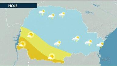 Apesar da chuva, temperaturas continuam altas no noroeste - A previsão de é pancadas de chuva isoladas na região, nesta quinta-feira (15).