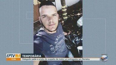 Polícia Civil pede prisão temporária de suspeito de matar motoboy após briga de trânsito - O crime foi há pouco mais de uma semana em Barretos, SP.