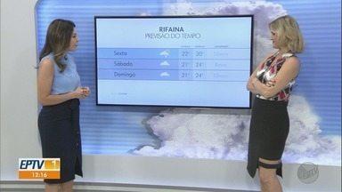 Previsão é de chuva na tarde do feriado na região de Ribeirão Preto - Áreas de instabilidade continuam nas cidades.