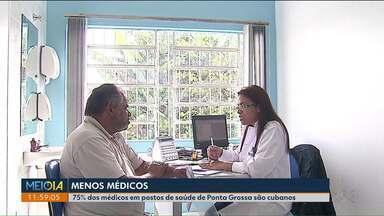 Retirado do programa mais médicos atinge o Paraná - No estado são 452 profissionais atuando pelo programa Mais Médicos.
