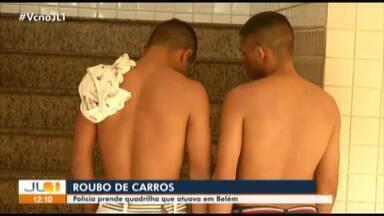 Polícia prende quadrilha que roubava carros na Grande Belém - Duas pessoas foram presas