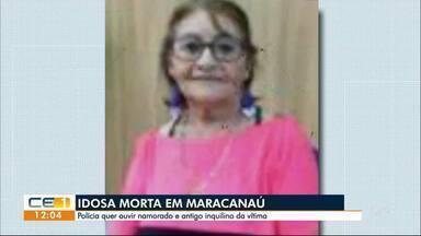 Idosa é encontrada morta dentro de casa, em Maracanaú. - Confira outras notícias no g1.globo.com/ce