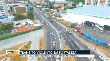 Feriado com acidentes graves em Fortaleza - Confira outras notícias no g1.globo.com/ce