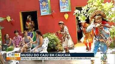 Visita ao Museu do Caju em Caucaia - Confira outras notícias no g1.globo.com/ce