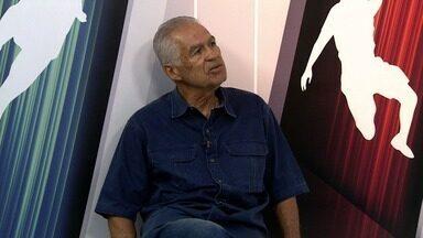 """Candidato à presidência do Itabaiana, Alberto Nogueira é entrevistado no estúdio do GE - Ele já foi presidente do clube, campeão sergipano em 2005 inclusive, e faz parte da chapa """"Itabaiana com alma e paixão"""""""