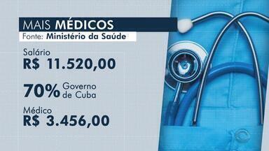 Secretaria Estadual da Saúde afirma que médicos cubanos ainda continuam trabalhando - Cerca de 6 mil pessoas podem ser afetadas com medida.