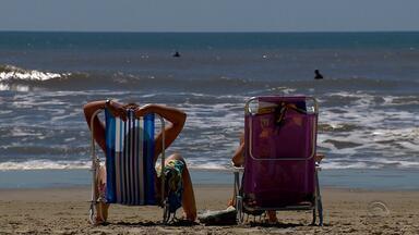 Feriado desta quinta-feira (15) movimenta litoral gaúcho - Sol apareceu durante todo feriado.
