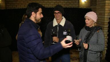 Número de visitantes nas vinícolas da serra tem aumento considerável - Nos últimos cinco anos, o número de turistas amentou em 160%.
