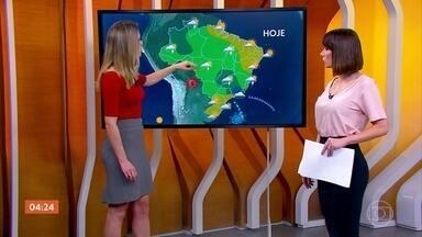 Previsão alerta para risco de temporal no Rio de Janeiro nesta sexta (16) - Já no Sul e no Nordeste do país, o tempo fica firme nesta sexta-feira. Confira como fica o tempo em todo país.