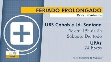 Ponto facultativo muda horários e atendimentos no Oeste Paulista - Confira o que retoma somente na segunda-feira (19).