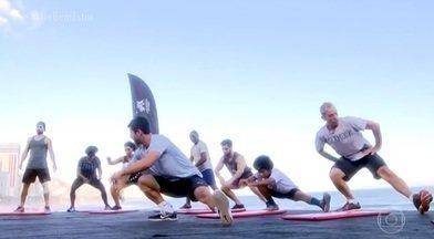 Aplicativos de exercícios estimulam quem quer praticar atividades físicas - Os aplicativos oferecem treinos de graça, de acordo com os objetivos de quem pratica. Saiba o que acontece com os músculos após a realização da atividade física.