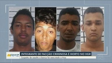 Integrante de facção criminosa é morto no Hospital Geral de Roraima - Suspeito de assalto a banco foi executado a tiros.