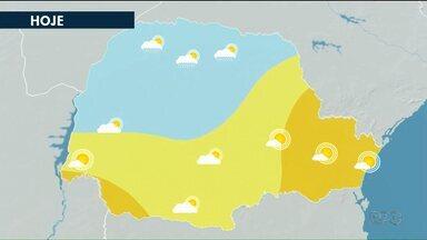 Sexta-feira (16) é de tempo firme nos Campos Gerais - Máxima chega a 27°C em Ponta Grossa.
