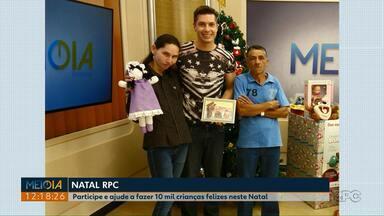 Participe da Campanha de Natal da RPC - A meta é arrecadar 10 mil brinquedos para crianças carentes de Ponta Grossa.