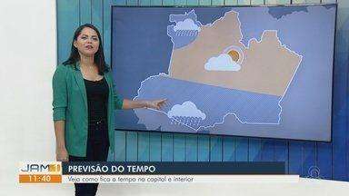 Confira a previsão do tempo para Manaus e interior do Amazonas - Confira a previsão do tempo para Manaus e interior do Amazonas