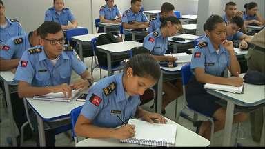 Escola Militar da Paraíba abre vagas em João Pessoa - A escola da Polícia Militar da Paraíba é gratuita e as vagas serão sorteadas.