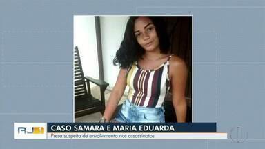 Suspeita de ter participado do assassinato de meninas em Casimiro de Abreu, RJ, é presa - Assista a seguir.