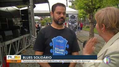Terceira edição do Festival de Blues, em Teresópolis, vai até domingo - Assista a seguir.