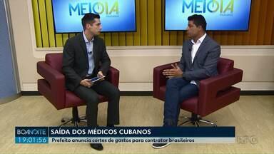 Saída de médicos cubanos vai custar R$ 6 milhões a mais por ano para Prefeitura de PG - Prefeitura deve contratar imediatamente 27 médicos brasileiros para repor o quadro nas unidades de saúde.