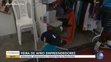 Feira do Afroempreendedor é realizada no Centro Histórico de Salvador, até domingo (18) - A entrada ao espaço é gratuita.