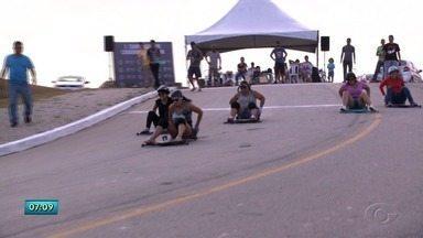 Campeonato de carrinho de rolimã reuniu diversas famílas em Maceió - Participantes adoraram a experiência.
